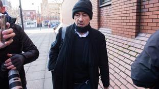 RTE worker Kieran Creaven arriving at Leeds Crown Court