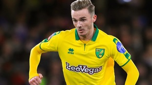 Norwich City midfielder James Maddison