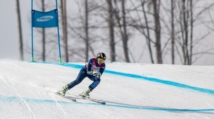 Millie Knight comepetes in PyeongChang.
