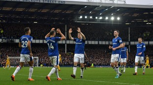 Everton enjoy comfortable 2-0 home win against Brighton