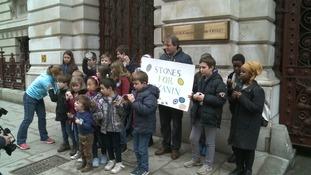 Nazanin protest