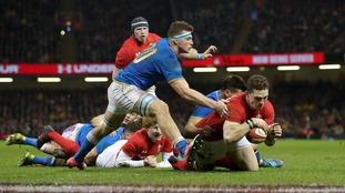 George North starred against Italy.
