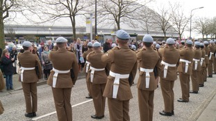 The 678 (Rifles) Squadron have been given the Freedom of Milton Keynes.