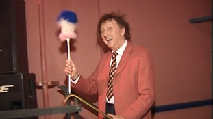 Ken Dodd at Hunstanton in 1999
