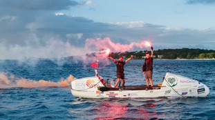 Hampshire brothers complete 3000 mile Atlantic row