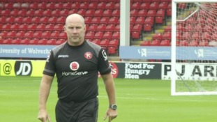 Walsall sack manager Jon Whitney