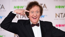 Sir Ken Dodd appearing at the National Television Awards