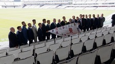 Essex were honoured at Lord's by the Taverners.