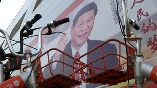 Xi is portrayed as the embodiment of the socialist dream.