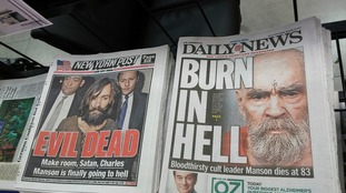 The headlines of both the New York Daily News and the New York Post on Monday, November 20, 2017.