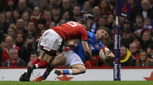 Liam Williams' tackle