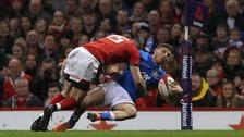 Liam Williams' tackle