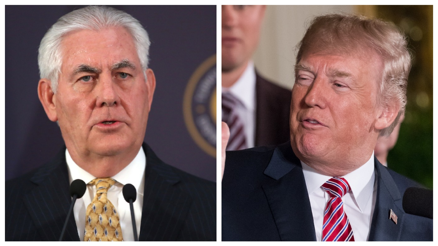 Trump and Tillerson at odds over nerve agent used in Salisbury attack which 'clearly came from Russia'