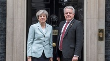Theresa May, Carwyn Jones October 2017