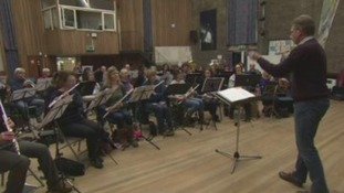 Band in full swing ahead of big concert
