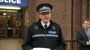 Assistant Chief Constable Martin Evans addressing the media on Monday.