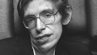 Professor Hawking was known for his groundbreaking work with black holes and relativity.