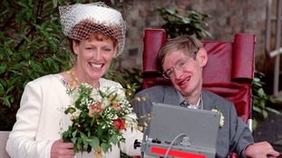 Stephen Hawking married nurse Elaine Mason in 1995.