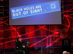 Professor Hawking educated millions with his theories of black holes and the Big Bang.