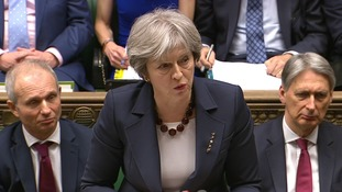 Theresa May chaired a meeting on Wednesday morning.