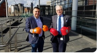 McEvoy/DET boxing gloves