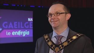 DUP mayor speaks Irish to open language event