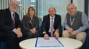 Northumbria Healthcare signs pledge to go 'truly' smoke-free