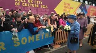 The Queen was among the estimated 4.7 million visitors