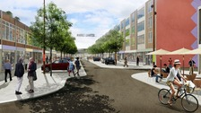 The council want to make improvements to areas such as New George Street and Civic Square.