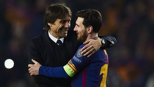 When you have the opportunity to make a great compliment to Messi, I think it's right - Chelsea boss Antonio Conte