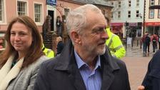 Jeremy Corbyn in Carlisle