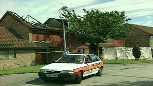 Mehmood set alight the three-bedroom house in Leegomery, Telford, in 2000.