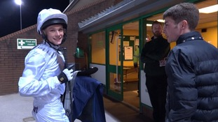 Teenager who was too small to play football turns to horse-racing