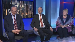 The guests on Anglia Late Edition were Peter Bone MP (Con), Sandy Martin MP (Lab) and Baroness Sal Brinton (Lib Dem)