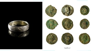 Ring and coins