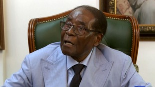 Ousted President Robert Mugabe tells ITV News that Zimbabwe 'must undo disgrace' of 'military takeover'