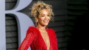 Rita Ora at Vanity Fair Oscar Party 2018