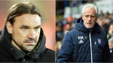 Daniel Farke & Mick McCarthy sit in a similar position but will have contrasting emotions