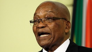 Former South African president Jacob Zuma faces corruption charges
