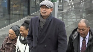 Actor Louis Emerick attends the funeral of Eddy Amoo