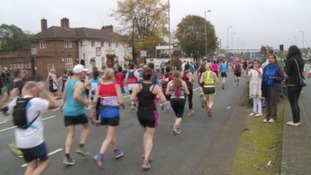 An estimated 22,000 people took part in last year's marathon.