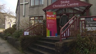 Stoke pop up library