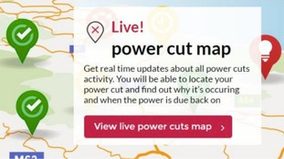 Customers can keep up to date by visiting the Power Cut Map on the Northern Powergrid website