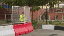 Barriers installed following Charlie Pope's canal death