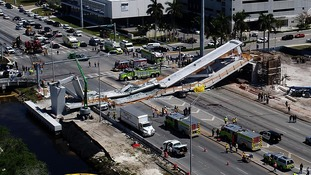 Florida engineer left voicemail about bridge cracks days before collapse killed six