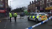 Police are appealing for witnesses to a collision in Hyde Park