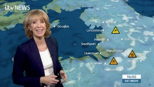 Amber snow & ice weather warnings - here's Emma