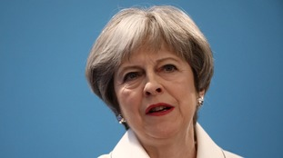 Theresa May said Russia had flagrantly breached international law.