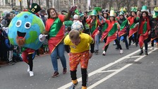 Celebrations take place to mark St Patrick's Day