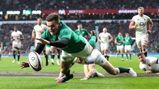 Watch live: Ireland close in on Grand Slam on St Patrick's Day
